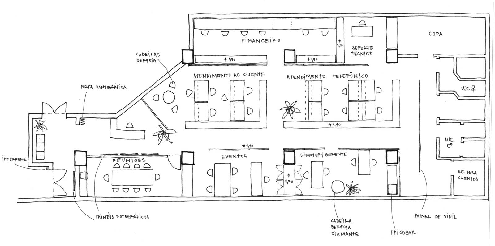 Projeto Design De Mobiliario E Execucao De Banheiro Parte De Suite De  #404040 1600 798